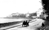 Howth, Harbour Road 1897
