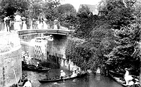Maidenhead, Boulters Lock Bridge 1906