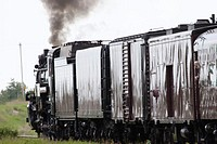 Old fashioned Steam locomotive