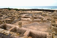 Old Roman salted fish and garum (fish sauce) factory. City of Baelo Claudia (II BC). Tarifa. Cadiz province. Spain