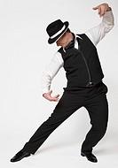 Man tango dancing
