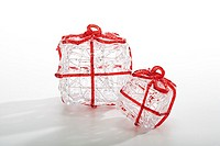 Christmas decoration, parcels (thumbnail)