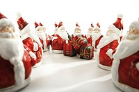Santa Claus figurines