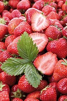 Fresh strawberries, close-up