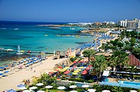 Protaras beach and attractions, Cyprus