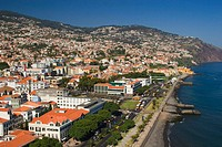 Aerial View of  Funchal, Madeira