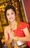 Thai Temple Girls, Bangkok, Thailand