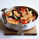 Ratatouille with chicken