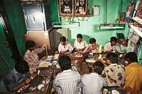 people working in jewellery factory , india