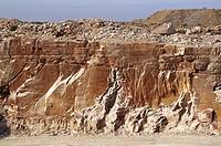sand stone mine , udaipur , rajasthan , india