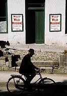 Street scene in Ballinrobe, Co Mayo, Ireland