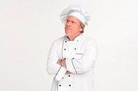 Chef, arms crossed