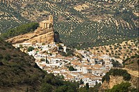 Moorish Castle at Montefrío in Spain