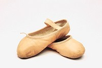 A pair of ballet slippers
