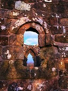 Dungiven Priory, Co Derry Roundtop Original, Window Sth Wall Nave 15th C