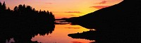 Sunset, Ballinahinch Lake, Connemara Co Galway,