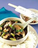Mushroom and Duck Stir Fry Not available in UK