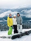 Snowboarders Posing