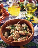 Chicken wings in garlic sauce Not available in FR