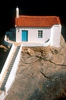 Cyclades, Andros, Hora, Panagia Thalassini Church