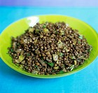 Mountain lentils with herbs