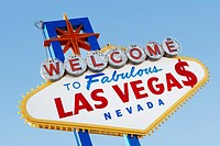 Las Vegas Welcome Road Sign (thumbnail)