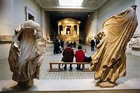 Nereid Monument, Lykian, The British Museum, London. England, UK
