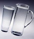 Water Jug And Glass - Non Exclusive