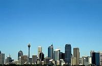 City landscape, Sydney, Australia