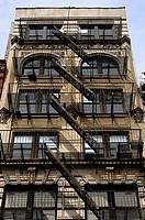 Fire escape. New York, USA.