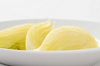 Steamed fennel