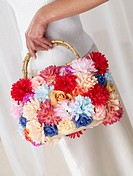 Flowery handbag
