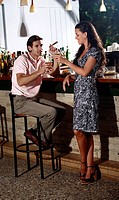 Couple in a bar (thumbnail)