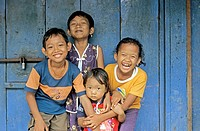 Happy children, Jakarta, Indonesia
