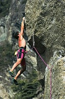 Italy - Valle d'Aosta Region - Valgrisenche - Free Climbing