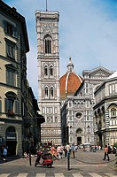 Italy - Tuscany Region - Florence - Santa Maria del Fiore Cathedral (Duomo) - Bell tower