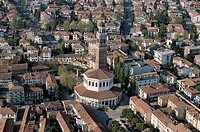 Italy - Veneto Region - Rovigo - The octagonal Church of the Blessed Virgin of Mercy called Rotonda (16th century)