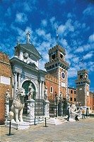 Italy - Veneto Region - Venice - The Arsenale (naval dockyard)