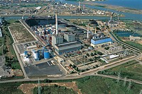 Italy - Veneto Region - Mestre - Industrial area - Aerial photo