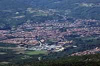 Prades, departement Pyrenees Orientales