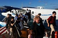 Maldives, seaplane