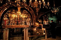 Israel, Jerusalem, church of the Holy Sepulchre