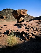 Israel, Eilat vicinity, Negev desert, Timna Park, the mushroom