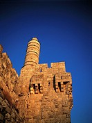 Israel, Jerusalem, citadel and David Tower (thumbnail)