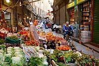 Vucciria Market, Palermo, sicily.