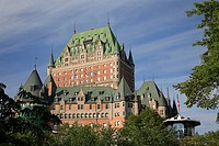 Canada, Quebec, Québec City, Chateau Frontenac Hotel
