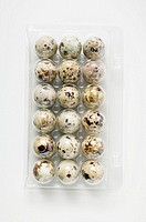 A pack of quails´ eggs