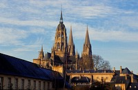 Cathedral Notre Dame, Bayeux, Calvados, Normandie, France