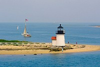 Brant Point Lighthouse, Nantucket Island, Massachusetts, USA