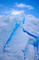 Detail of iceberg, Antarctica